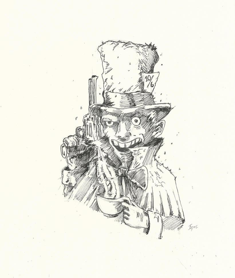 Mad Hatter by Graymalkin2112