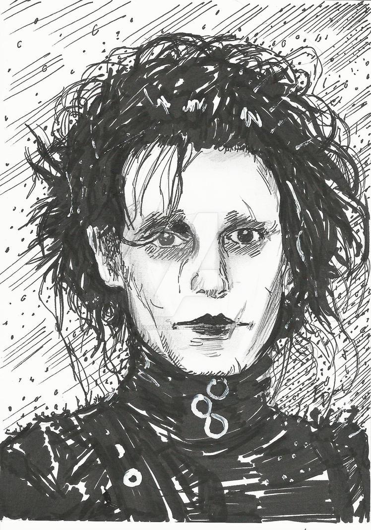 Edward Scissorhands by Graymalkin2112