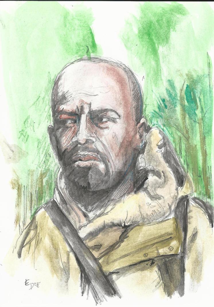 Morgan:The Walking Dead by Graymalkin2112