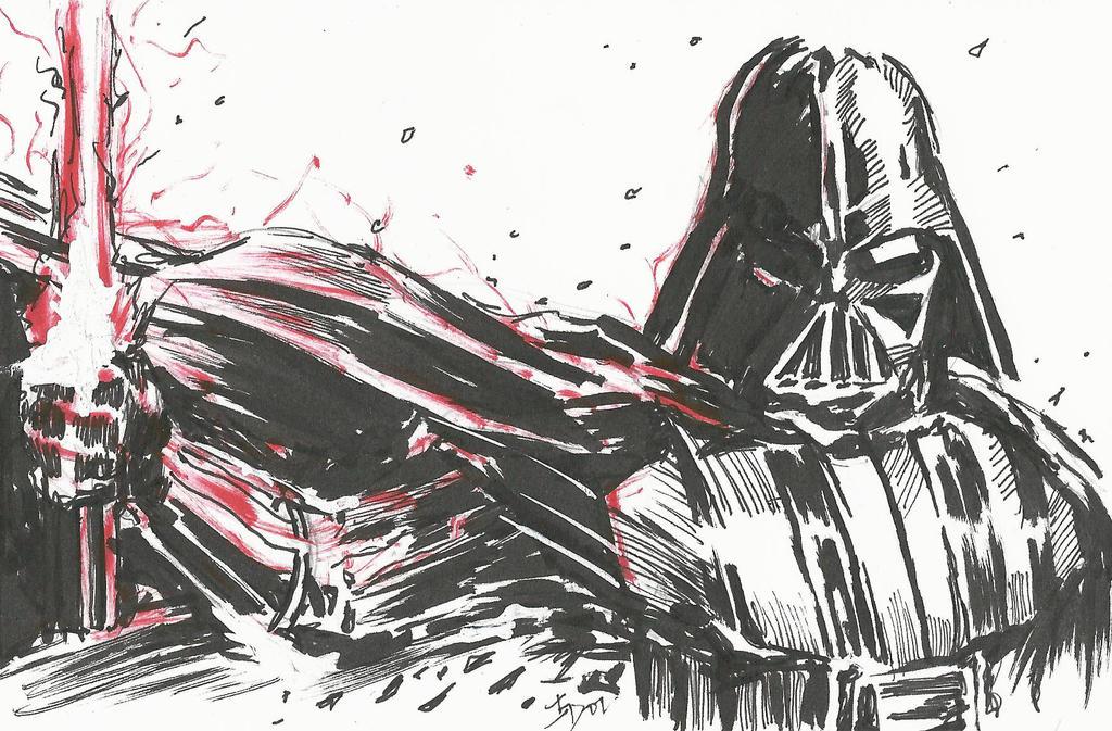 Darth Vader by Graymalkin2112
