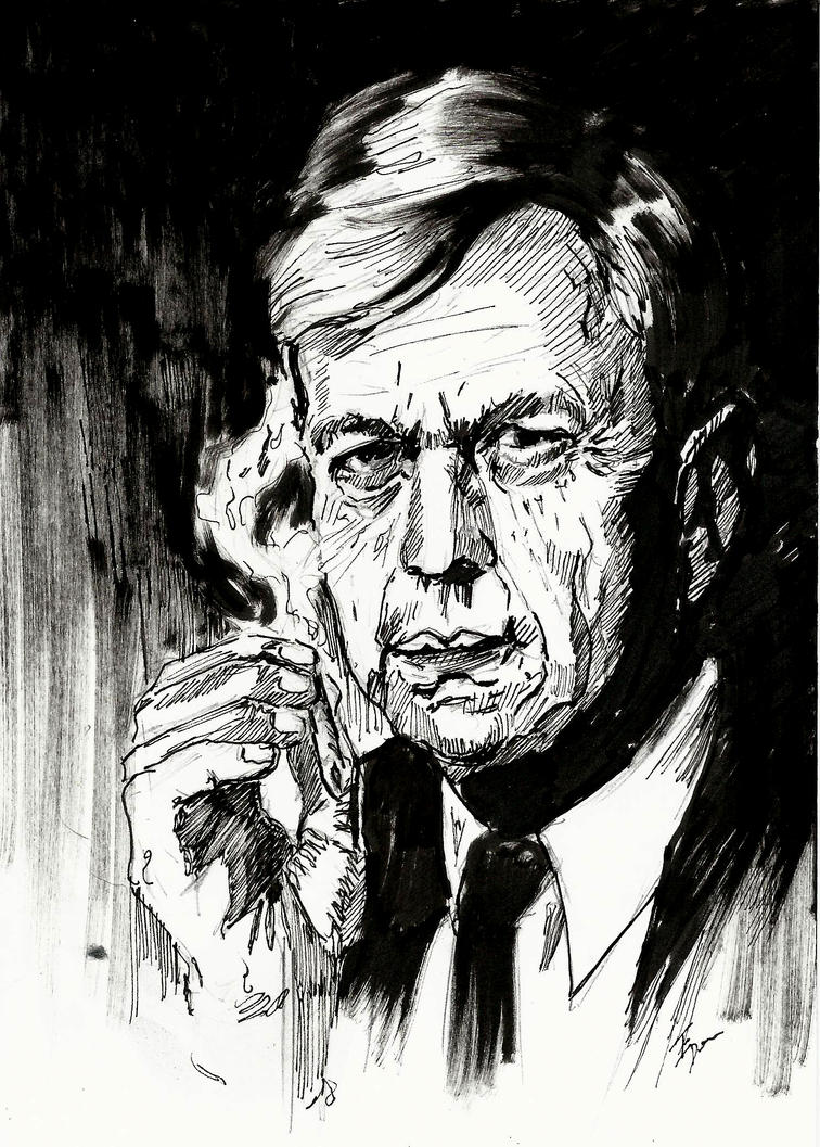X-Files: Cigarette Smoking  Man by Graymalkin2112
