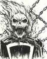 Ghost Rider by Graymalkin2112