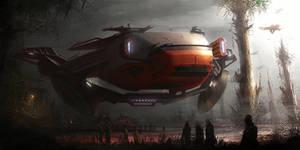 starwars jungle vehicle