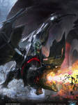Gilda Dragoneer (Evolved) by MatiasMurad