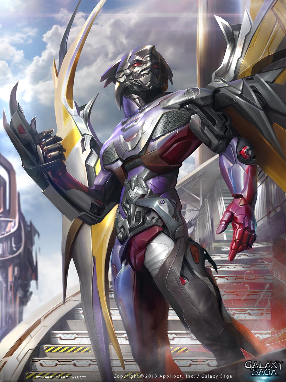demon hunter by MatiasMurad