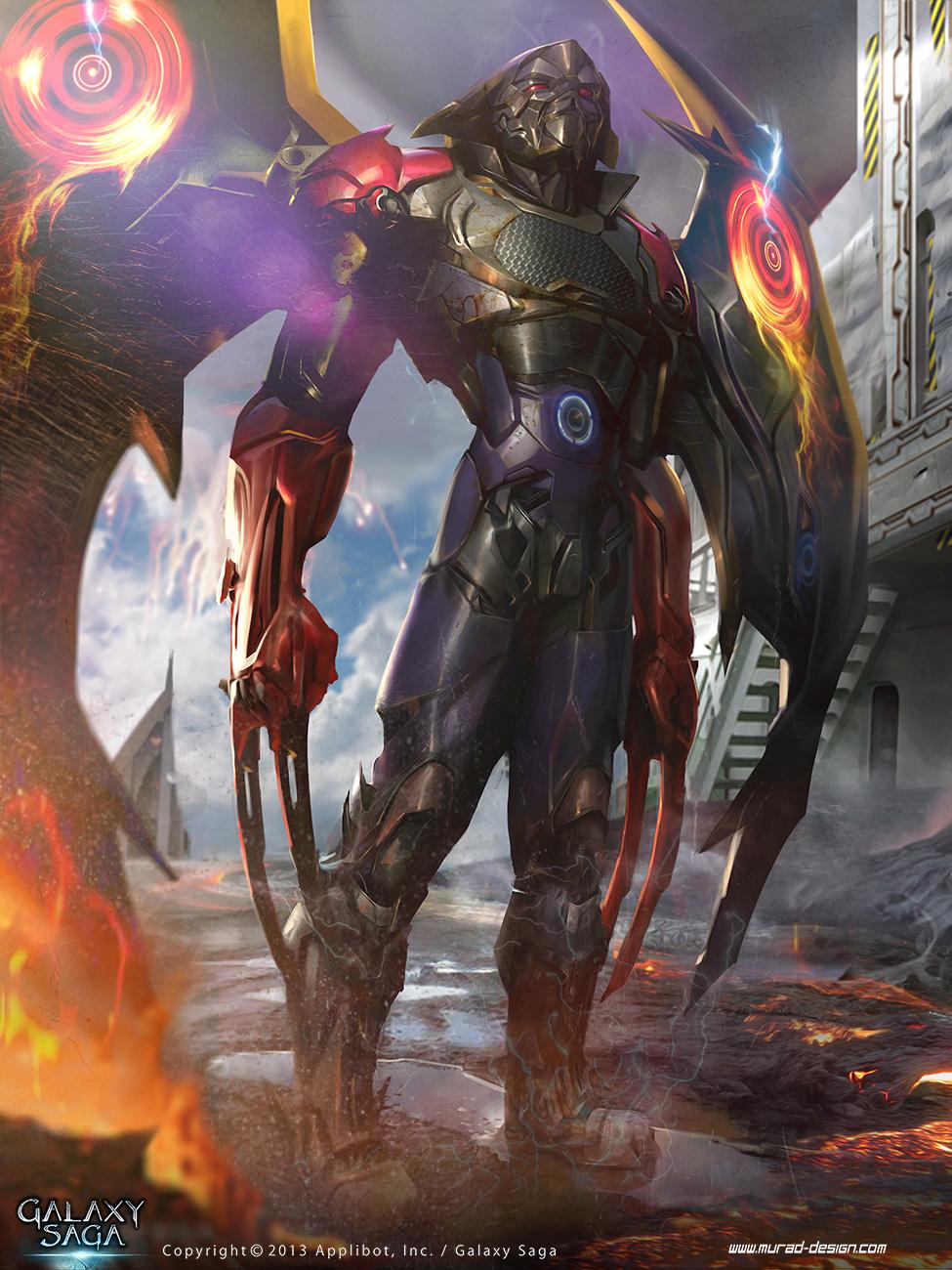 Demon hunter Evolution (Galaxy Saga) by MatiasMurad
