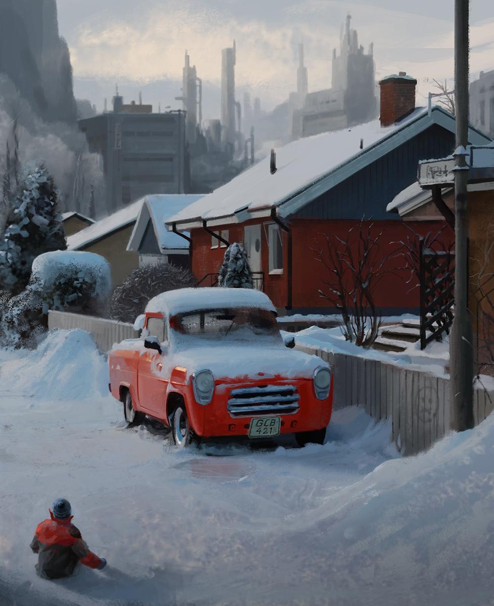 Nordic atmosphere by MatiasMurad