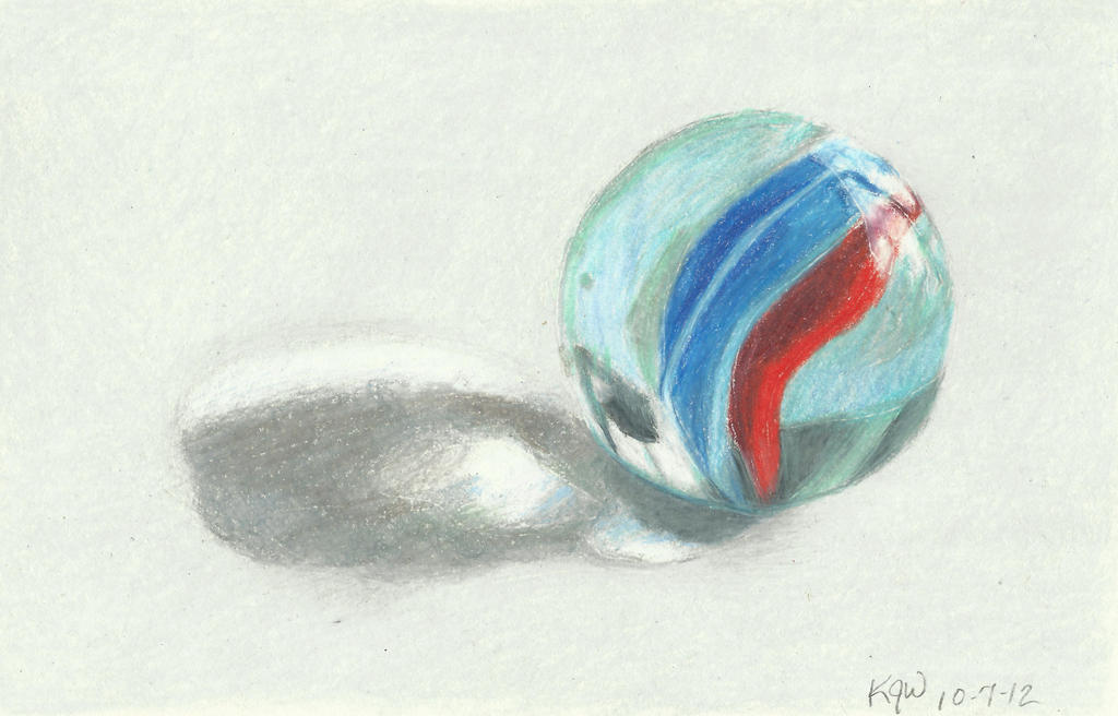 Marble Colored Pencil Drawings Of Clusters : Draw again photorealistic marble by carryn on deviantart