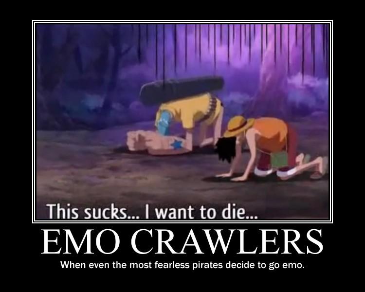 Emo crawlers... by ellahello
