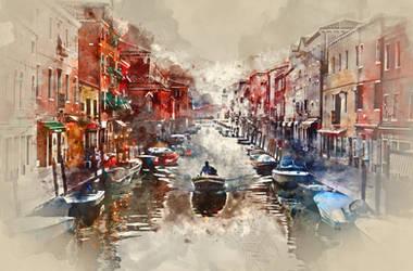 Venice by oddsdigitalart