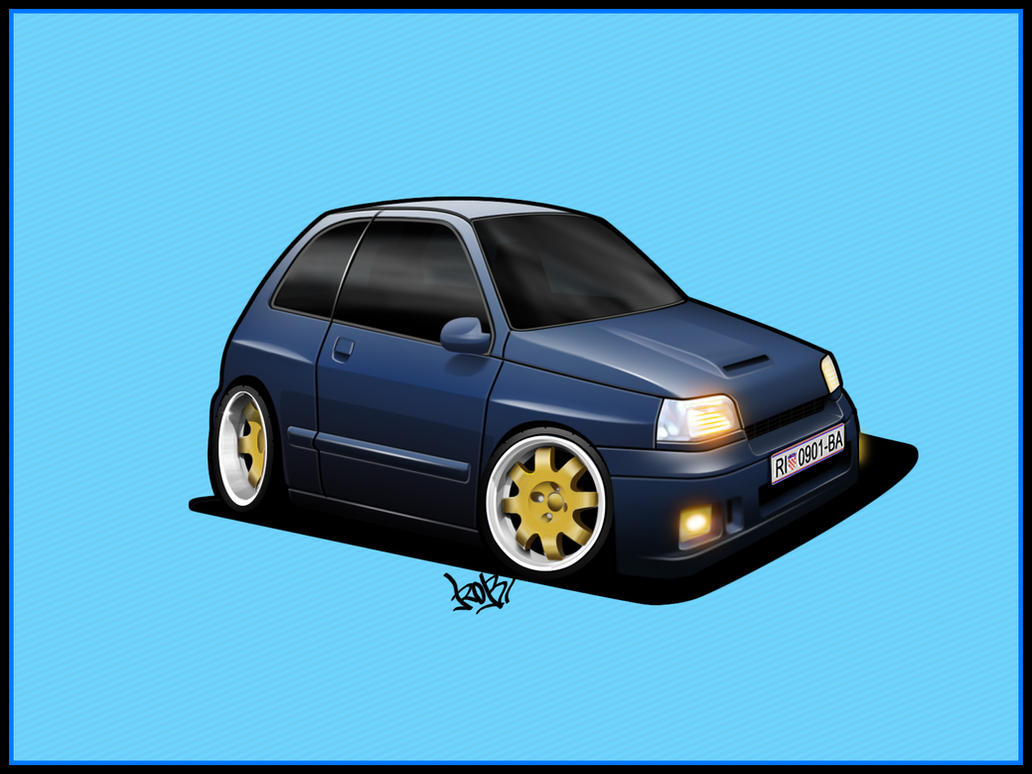 clio toon by RibaDesign