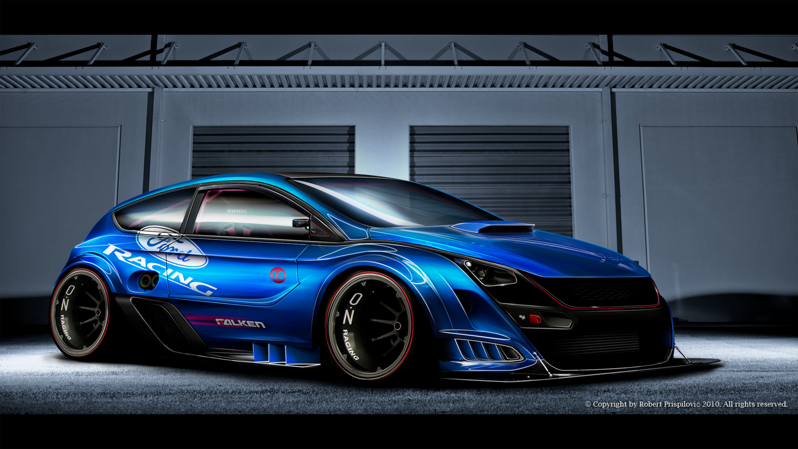 Ford Focus Rs Limited Edition By Ribadesign On Deviantart