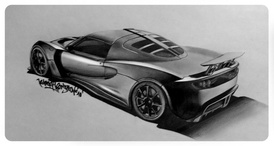 Hennessey Venom GT by RibaDesign