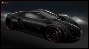 Marussia B2 black by RibaDesign