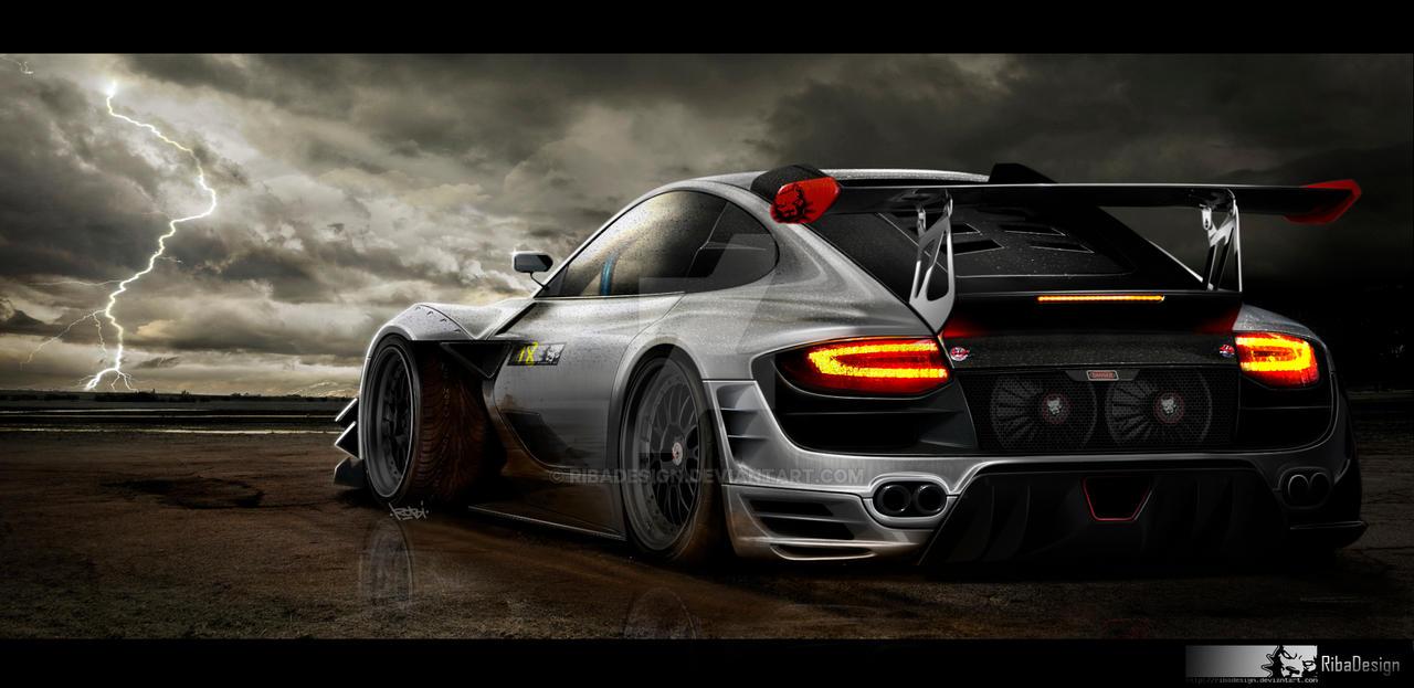 Porsche Carrera 911 4s by RibaDesign