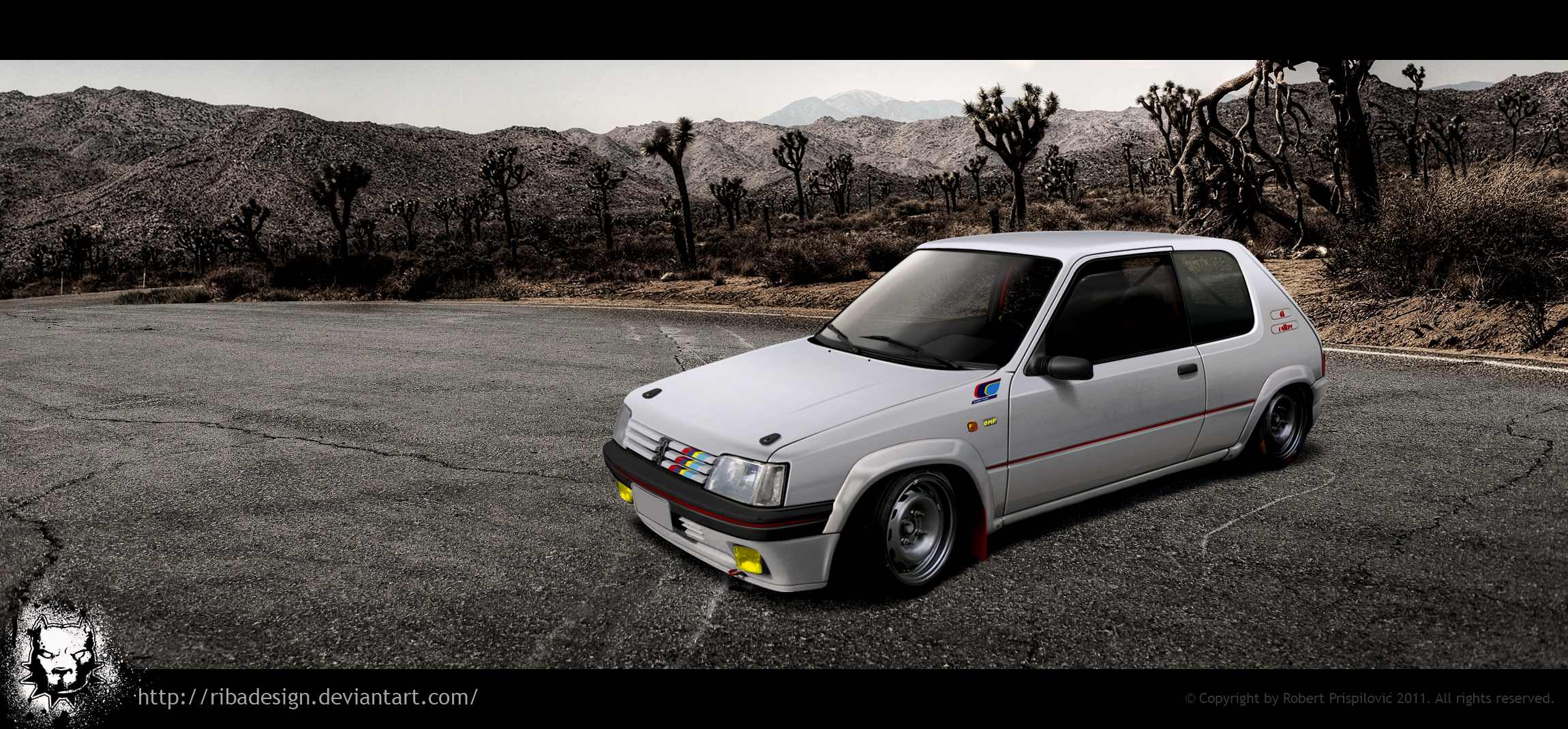 Peugeot 205 rallye by RibaDesign