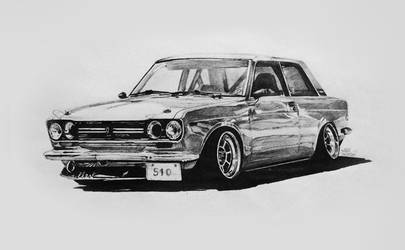 Datsun 510 by RibaDesign