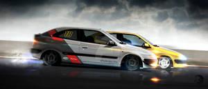 Xsara VTS track race