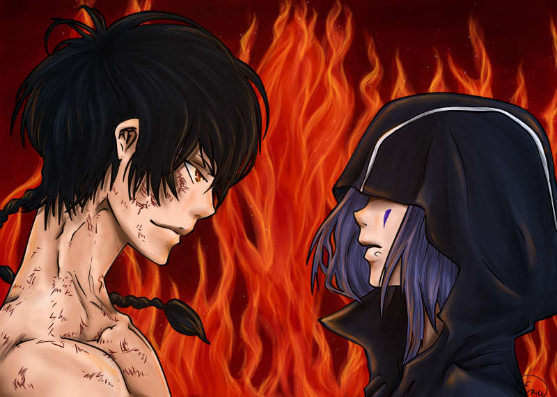 Dragon Rojo&Negro { ID } ¿Come On? {Construcción} Fon_vs__viper_by_midnightartdragon-d5hwimt