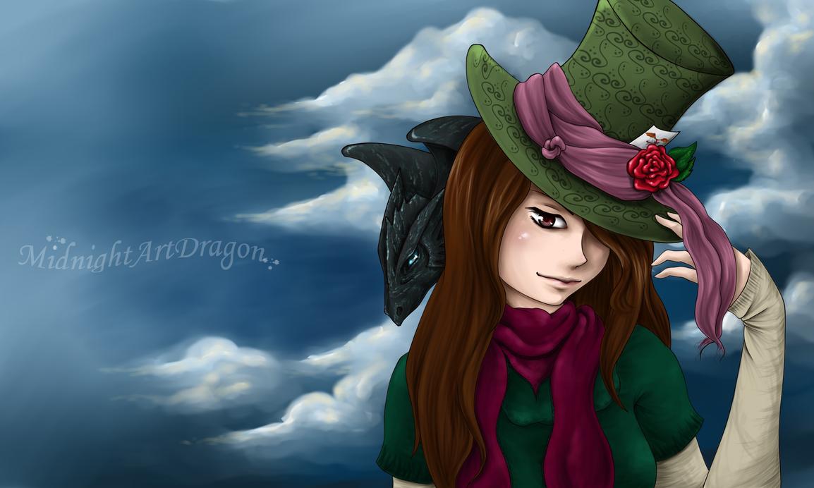 Cloudy day by MidnightArtDragon