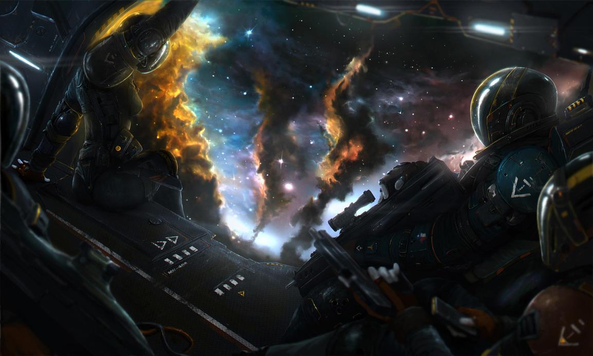 Space by AlanWind on DeviantArt