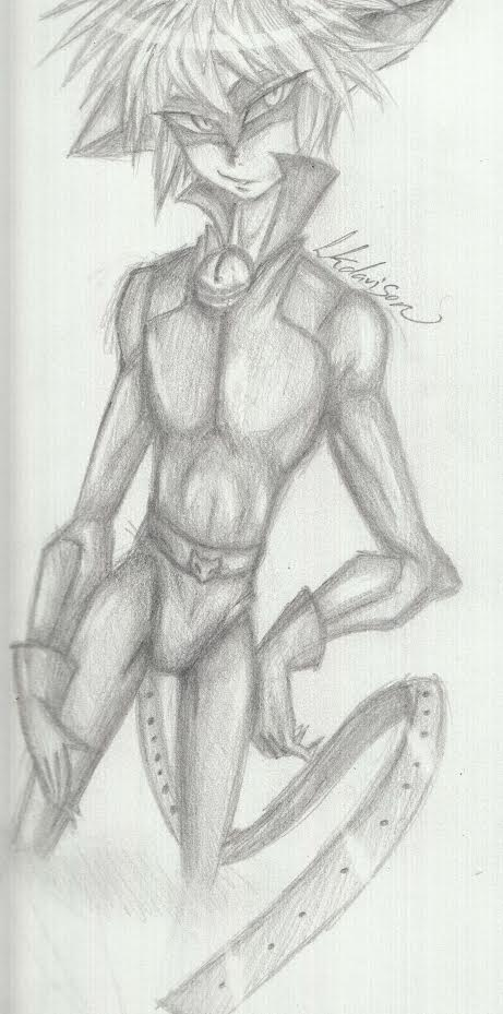 Cat noir sketch by sonicfangirl666