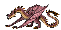 Pixel Smaug by giantdragon