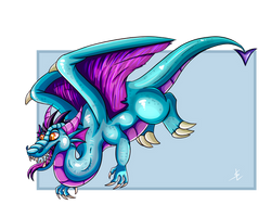 Dragon for DovieCaba by giantdragon