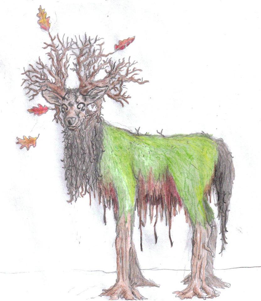 Forest Spirit by BronzeMartin