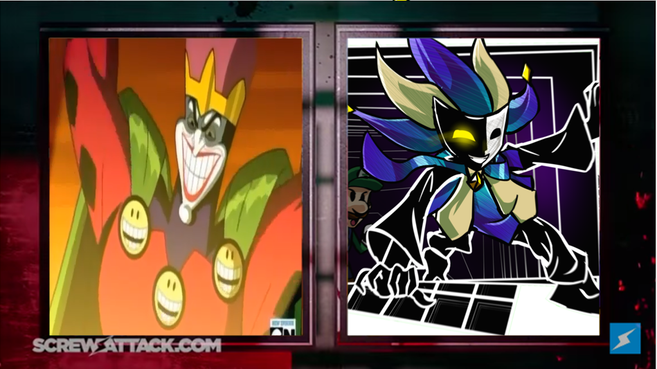 Emperor Joker VS Dimentio: Death Battle by GameboyAdv on