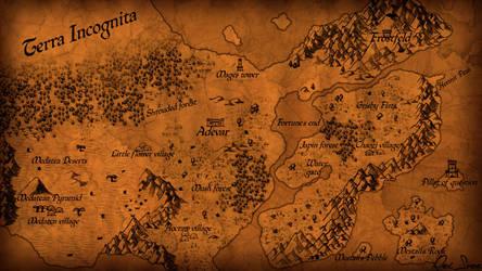Map of Adevar