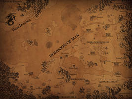 Map of the Dominion of Man by RexSvea