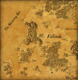 Map of Falonde