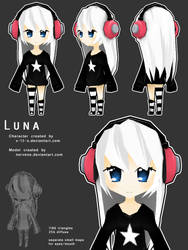 Luna Fan Model by nervene