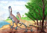 In the mists of time 2: Theropod courtship