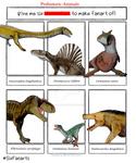 Six Prehistoric Animals