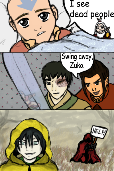 avatar meets shyamalan by emptygoldeyes on deviantart