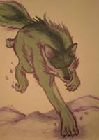 June 24-Emeraldwolf by Emptygoldeyes
