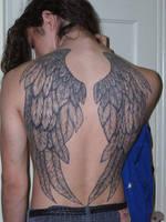 wings tattoo by Emptygoldeyes