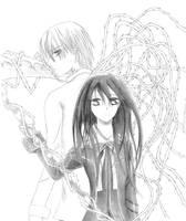 Zero Kiryu and Yuki Kuran by iloveeagles