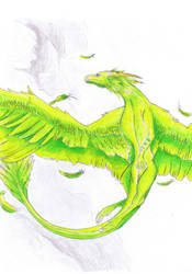 Green Dragon by iloveeagles