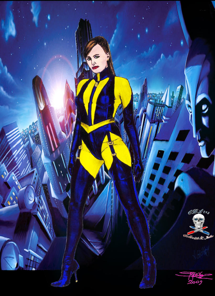 Silk Spectre colab by CDL113