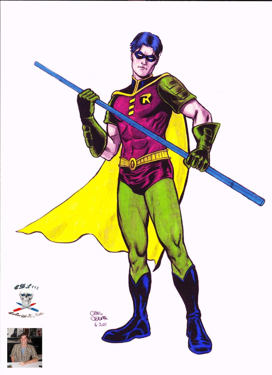 Tim Drake Robin  'colab' by CDL113