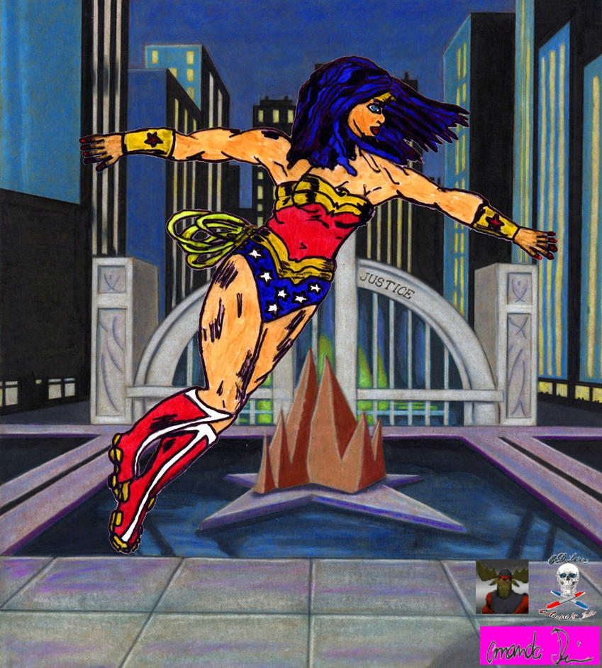 Wonder Woman  colab by CDL113