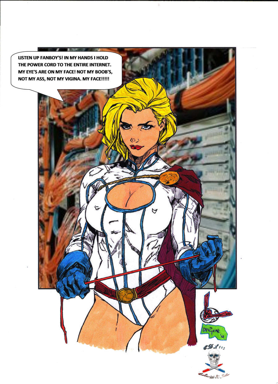 Power Girl  BA CB3 by CDL113