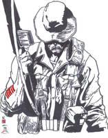 Snake Eyes Origin  inks by CDL113
