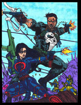 Punisher and Baroness