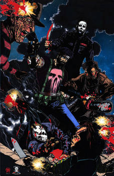 The Punisher Descent Into Darkness