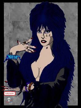 Elvira the Scream Queen of Halloween