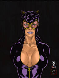 CATWOMAN Pretty in Black by CDL113
